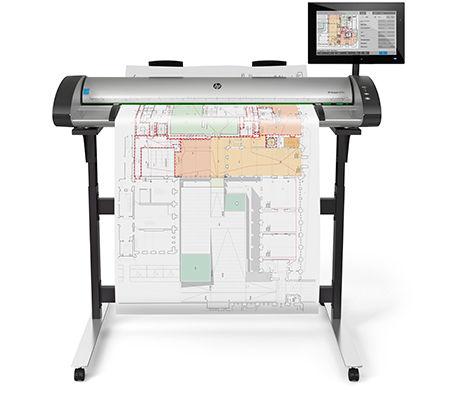 HP SD Pro 44-in Scanner G6H50B