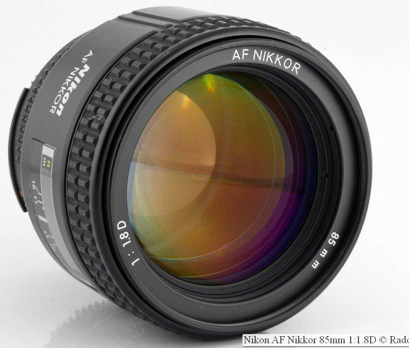 Nikon AF Nikkor 85mm 1:1.8D