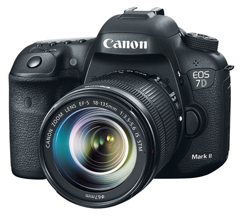Canon EOS 7D Mark II DSLR Camera and 18-135mm f/3.5-5.6 USM Lens