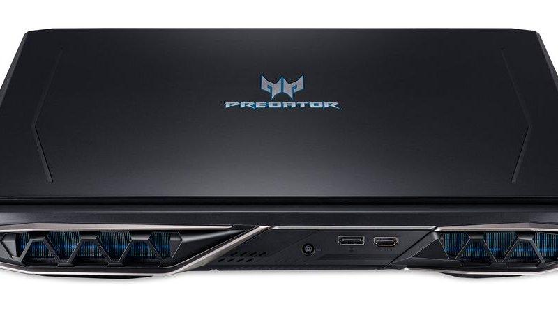Acer Predator Helios 500, Intel Core i9-8950HK Six-Core 5.0GHz, NVIDIA GeForce GTX 1070 (8GB), 17.3