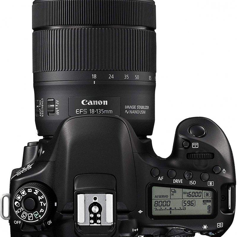 Canon EOS 80D kit 18-135mm Nano USM