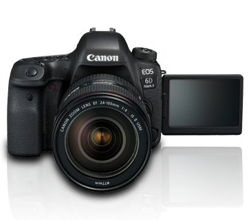 Canon EOS 6D mark II kit 24-105 f4L IS II USM