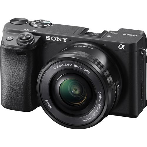 Sony Alpha a6400 kit 16-50mm Lens 4K Video,