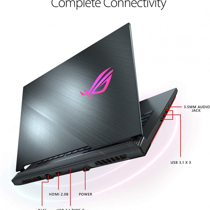"Asus ROG Strix Scar III (2019) Gaming Laptop,  15.6"" 240Hz IPS Type FHD,  NVIDIA GeForce RTX 2060,  Intel Core i7-9750H,  16GB DDR4,  1TB PCIe Nvme SSD,  Per-Key RGB KB,  Windows 10"