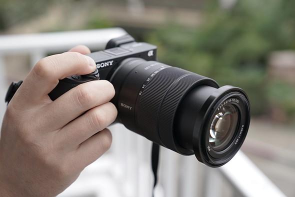Sony Alpha a6400 kit 18-135mm,  4K Video