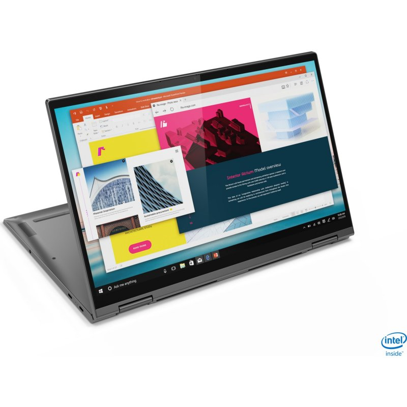 Lenovo Yoga C740-2 in 1 Laptop, Core i5-1021U Ram 12GB SSD 256 GB 15.6 FHD IPS TS Win 10