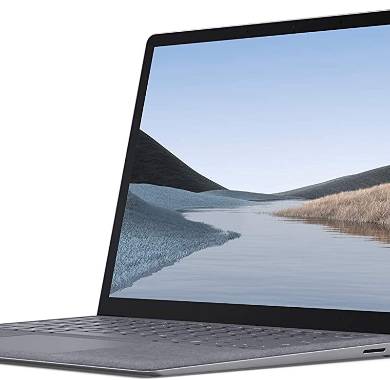 Microsoft Surface Laptop 3   13.5 Touch-Screen  10th Gen Intel Core i5  SSD 256 GB Ram 8GB  Platinum with Alcantara Win 10