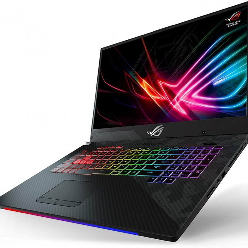 Asus ROG Strix Scar II Gaming Laptop GL704GV-DS74 Intel Core i7-8750H NVIDIA GeForce RTX 2060-6GB, 17.3-144Hz IPS-Type Full HD Ram 16GB DDR4 RAM,  512GB PCIe SSD,  RGB KB,  Windows 10