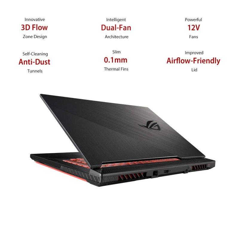 ASUS ROG G531GT -Intel core I7-9750H - NVIDIA GeForce GTX 1650, Ram 16 GB , 512GB SSD, Win 10