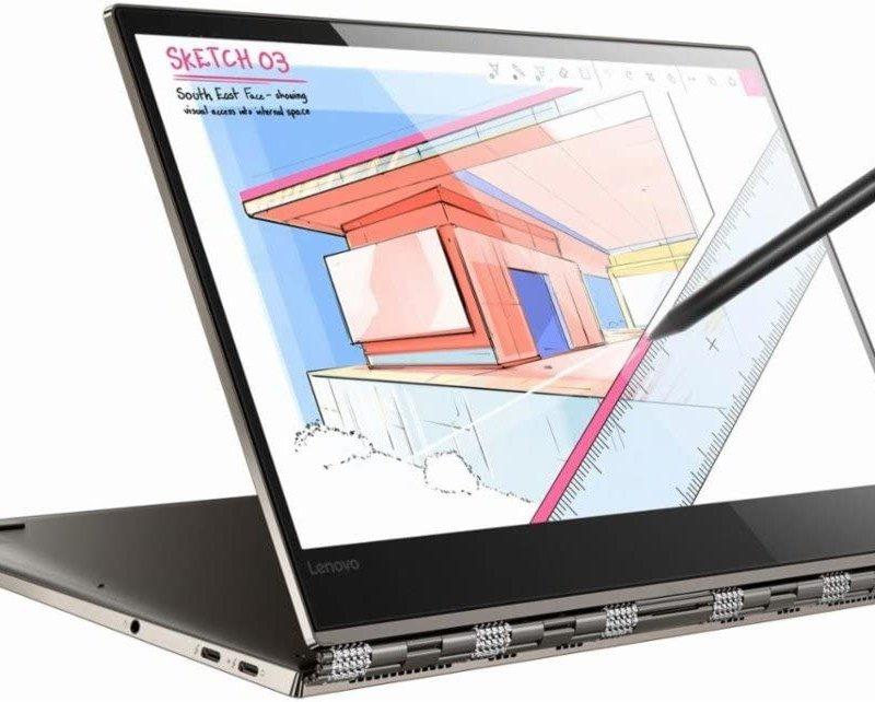 Lenovo Yoga 920 - 80Y7  Intel Core I7-8550U Ram 8GB SSD 256GB 13.9 FHD LED TS 2-in-1 Touch-Screen Win 10