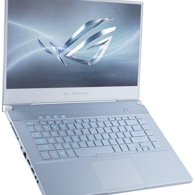 Asus ROG Zephyrus M15 GU 502 GUX Intel Core i7-9750H 4.5GHz Six-Core Ram 16gb SSD 512 GB NVIDIA GeForce GTX1660Ti (6GB GDDR6) 15.6 FHD IPS 240Hz Windows 10 Pro