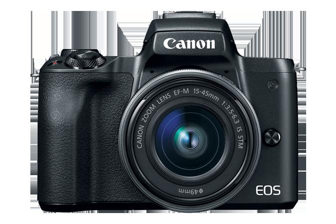Canon EOS M50 EF-M 15-45mm IS STM Kit Black