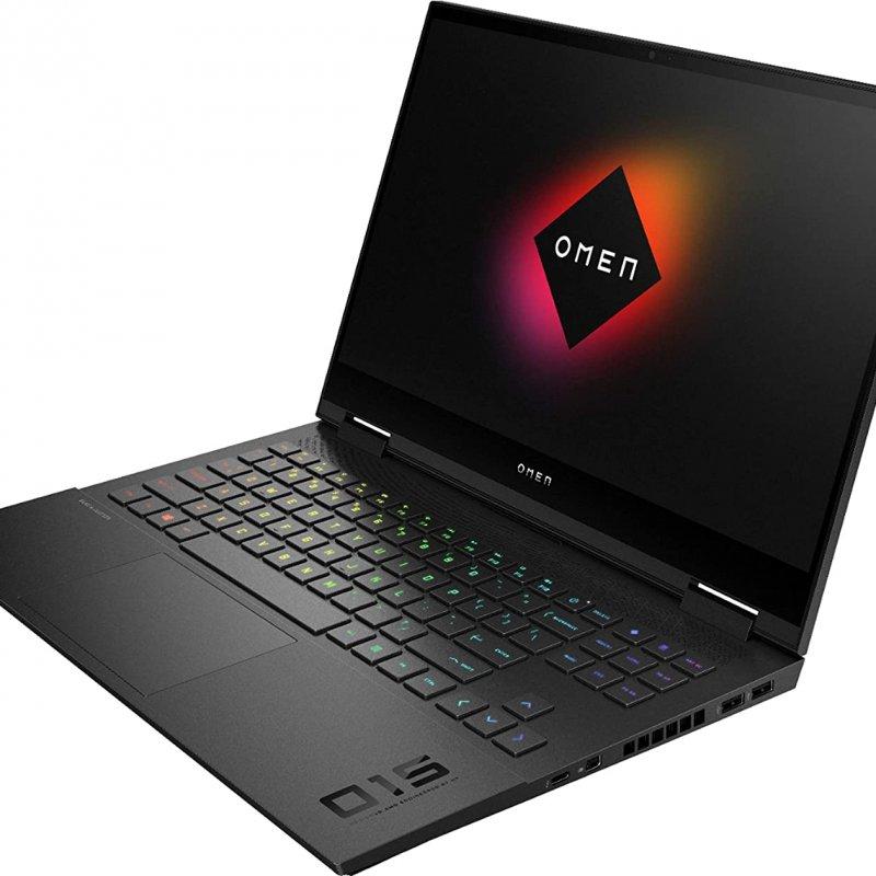 HP - OMEN 15-EK0013DX Gaming Laptop, 10th Gen Core i7-10750H, NVIDIA GeForce RTX 2060-6GB, 512GB SSD+32GB Optane, Ram 16GB, 15.6 FHD, IPS, LED Display(300nits, 300HZ) Win 10