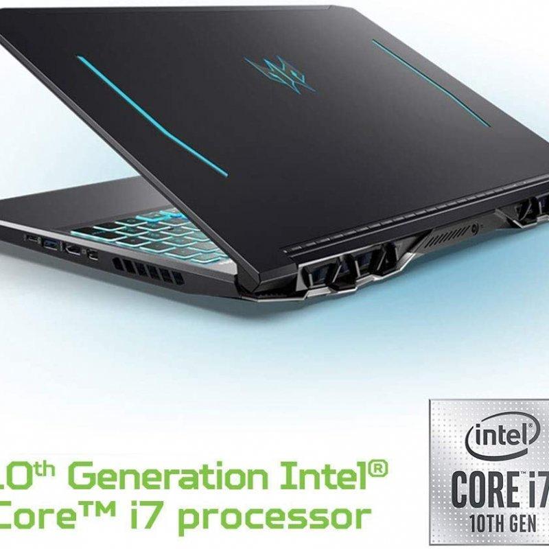 Acer Predator Helios 300 PH315-53-72XD Intel i7-10750H,  NVIDIA GeForce RTX 2060-6GB,  15.6