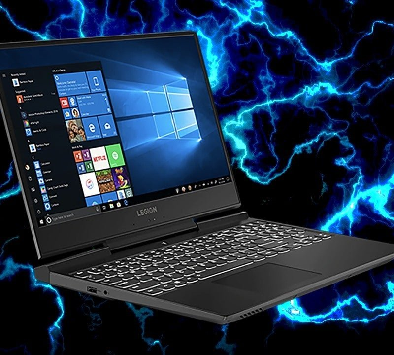 Lenovo Legion Y545 Gaming Laptop, Intel Core i7-9750H 2.6Ghz, Nvdia Geforce GTX 1660ti-6GB, Ram 16gb, SSD 512GB, Win 10.