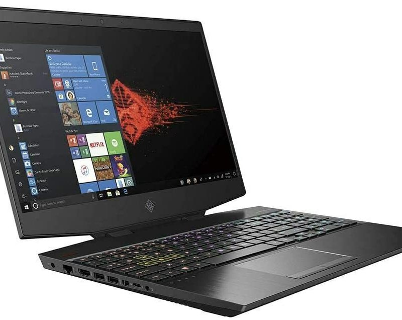 HP OMEN 15-dh1054nr Gaming Laptop  Intel Core i7-10750H, Ram  16GB DDR4 Memory,  512GB SSD,  Nvidia GeForce 1660Ti-6gb, 15.6 FHD IPS LED Display(300 nits,144Hz) Win 10
