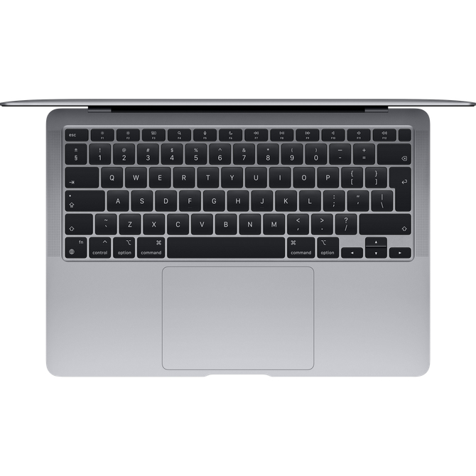 Apple MacBook Air Apple M1 chip (MGN73LL/A) Processor Apple M1, Battery Life 18 hours, MacOS Big Sur 11.00 Ram 8GB, SSD 512 GB, 13.3 Retina (2560x1600) Rengi - Space Gray, Latest Model