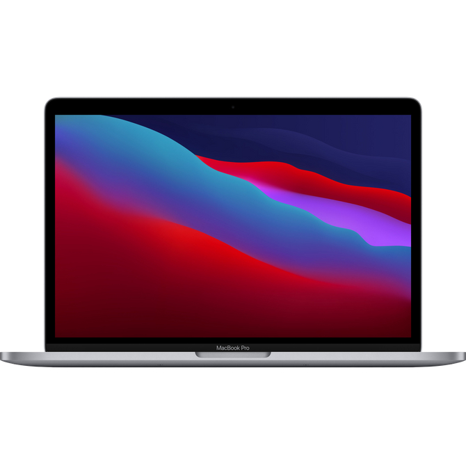 Apple MacBook Pro Apple M1 chip MYD92LL/A Processor Apple M1, Battery Life 18 hours, MacOS Big Sur 11.00 Ram 8 gb, SSD 512GB, 13.3 Retina (2560x1600), Rengi Space Gray, Latest Model