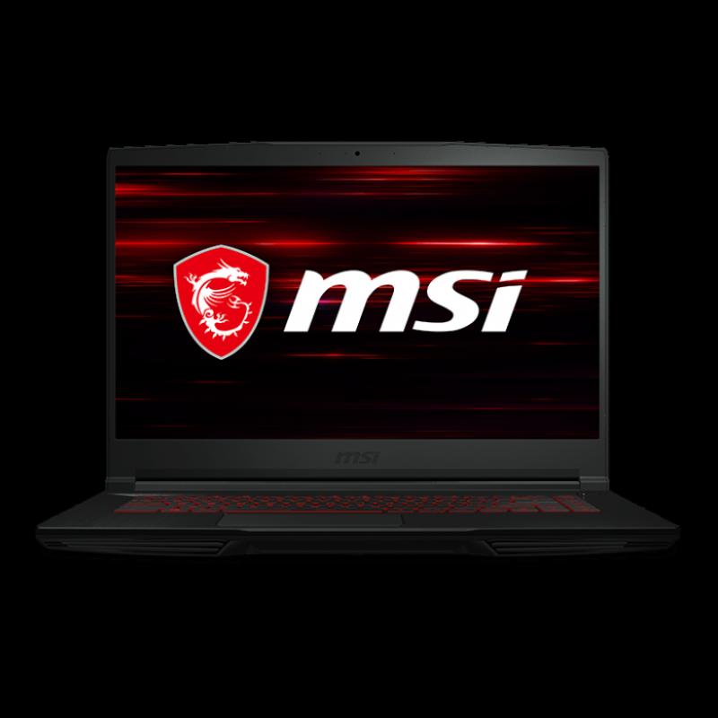 Msi GF 65 Thin 10 SDR, Intel Core i7-10750H, Nvdia Geforce GTX 1660ti-6GB DDR6, SSD 512 GB, Ram 8 gb (max 32 gb), 15.6 FHD, anti-glare, IPS-level, 120hz, Win 10,