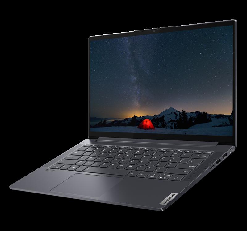 Lenovo YOGA Slim 7, AMD® Ryzen™ 7 4700U Processor (8 Cores / 8 Threads, 2.00 GHz, up to 4.10 GHz with, Ram 16gb, SSD 512 GB, VGA AMD, 14.0 FHD, Windows 10