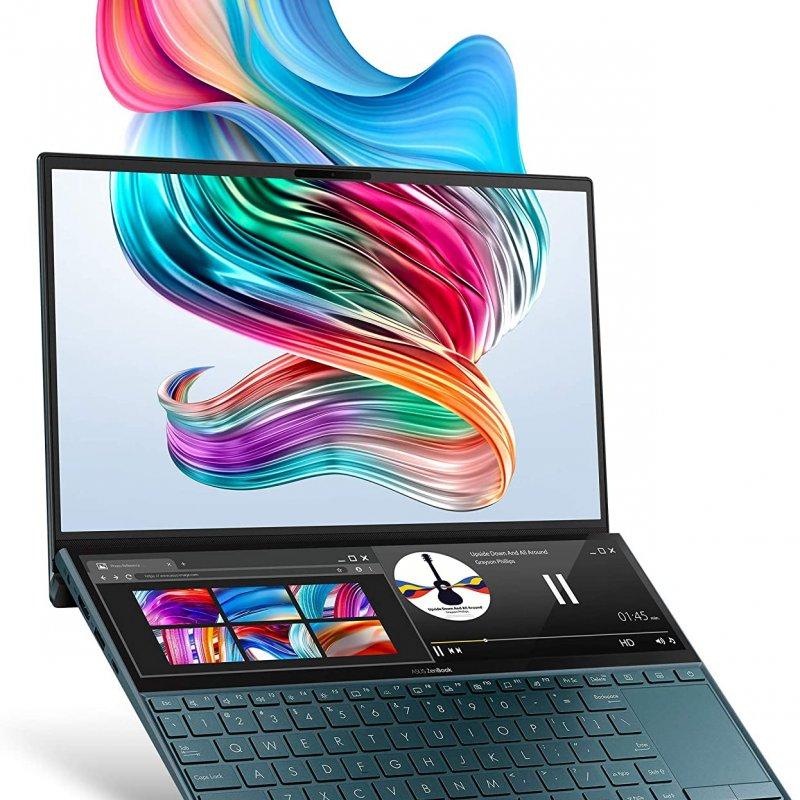 Asus ZenBook Duo UX481FA-DB71T, Intel i7-10510U, Ram 8 GB,   SSD 512GB, 14.0 FHD TP WV, Win 10,