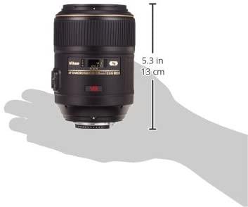 Nikon 105mm f/2.8D AF Micro-Nikkor Lens for Nikon Digital SLR Cameras