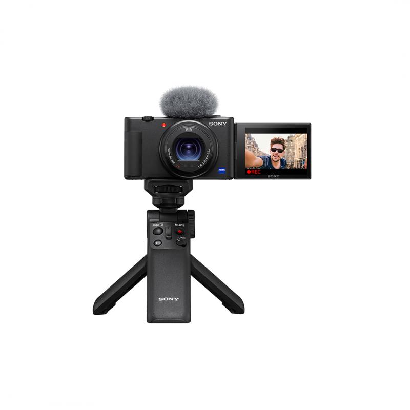 Sony Vlog camera ZV-1 | Digital Camera (Vari-angle Screen for Vlogging, 4K Video) ZV1BDI