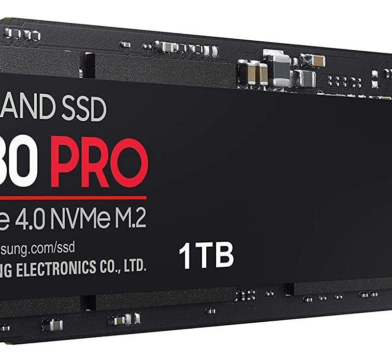 SAMSUNG 980 PRO 1TB SSD PCle 4.0 NVME M.2