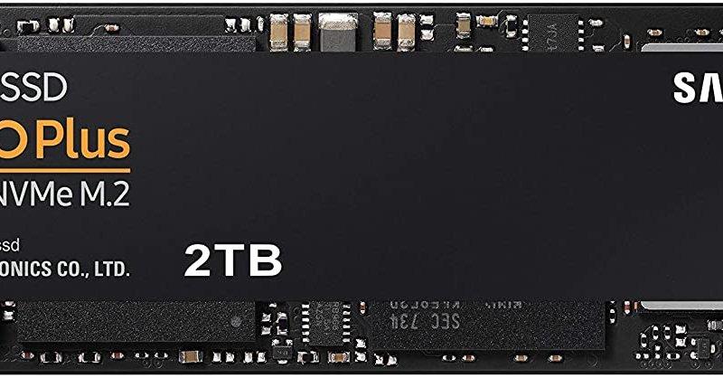 SAMSUNG 970 EVO Plus SSD 2TB - M.2