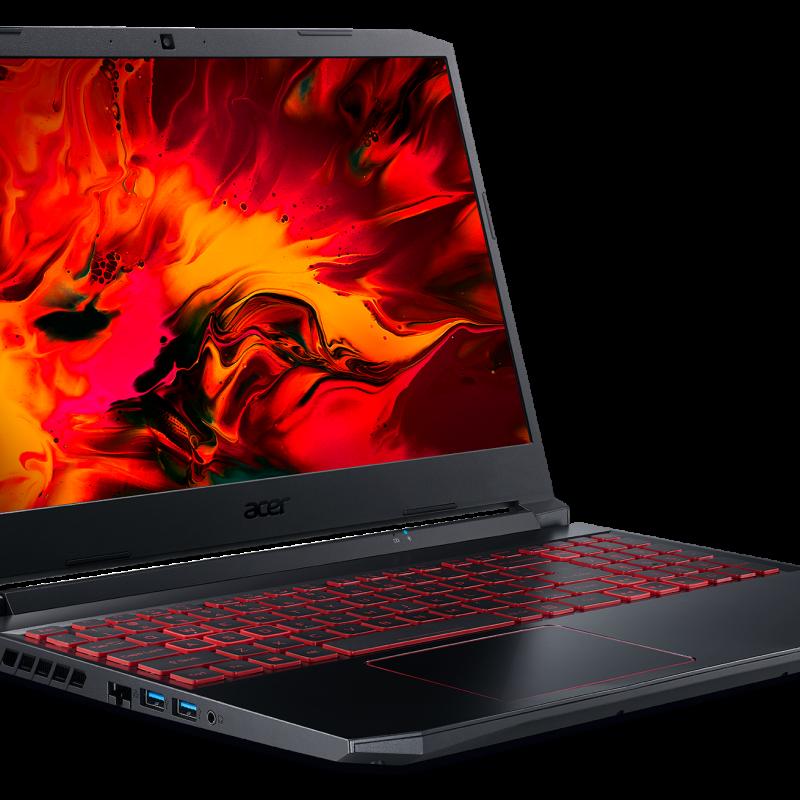 Acer Nitro 5-AN515-55-57C4, 10th Gen Intel Core i5-10300H, NVIDIA GeForce RTX 3050Ti Laptop GPU, 15.6