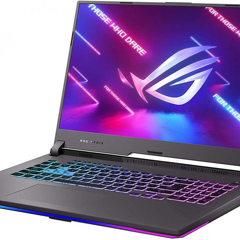 ASUS ROG Strix G17 (G713QM-ES94 (2021)) AMD Ryzen 9 5900HX, 17.3 IPS 144Hz Tipo FHD, NVIDIA GeForce RTX 3060-6GB, Ram 16gb, SSD 512GB, Windows 10
